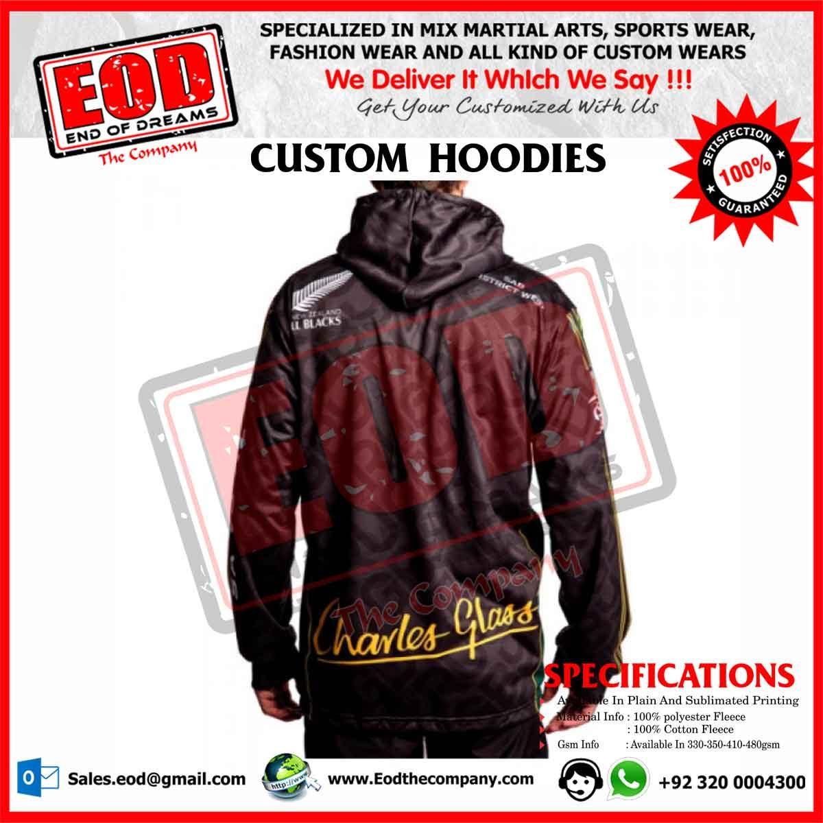 Custom Hoodies - EOD The Company