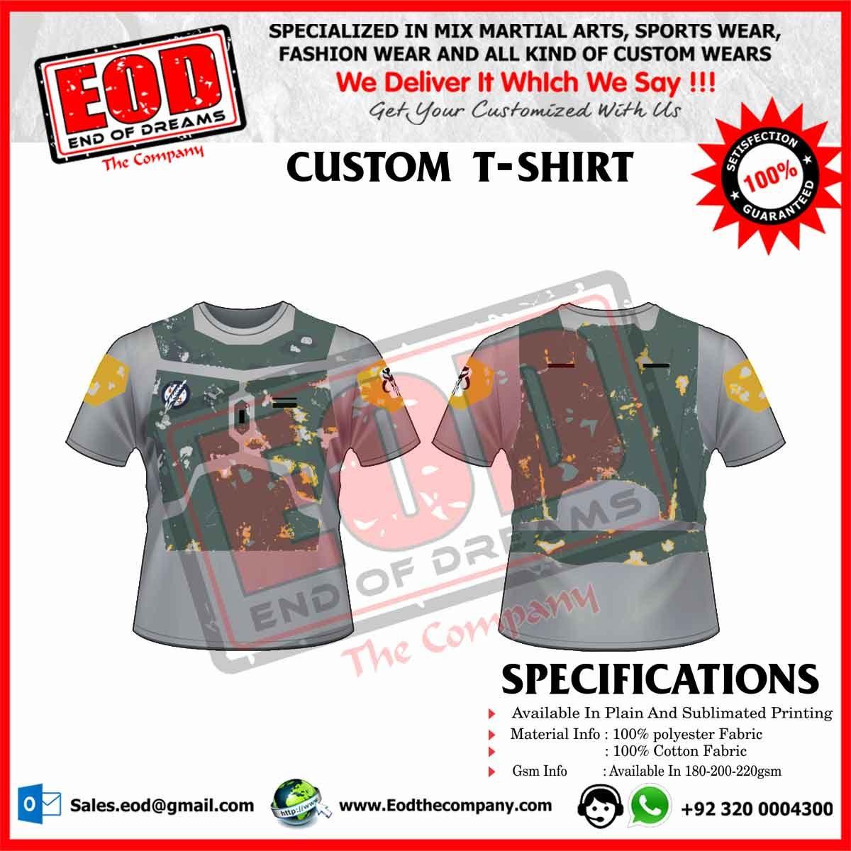 Custom T-Shirts - EOD The Company
