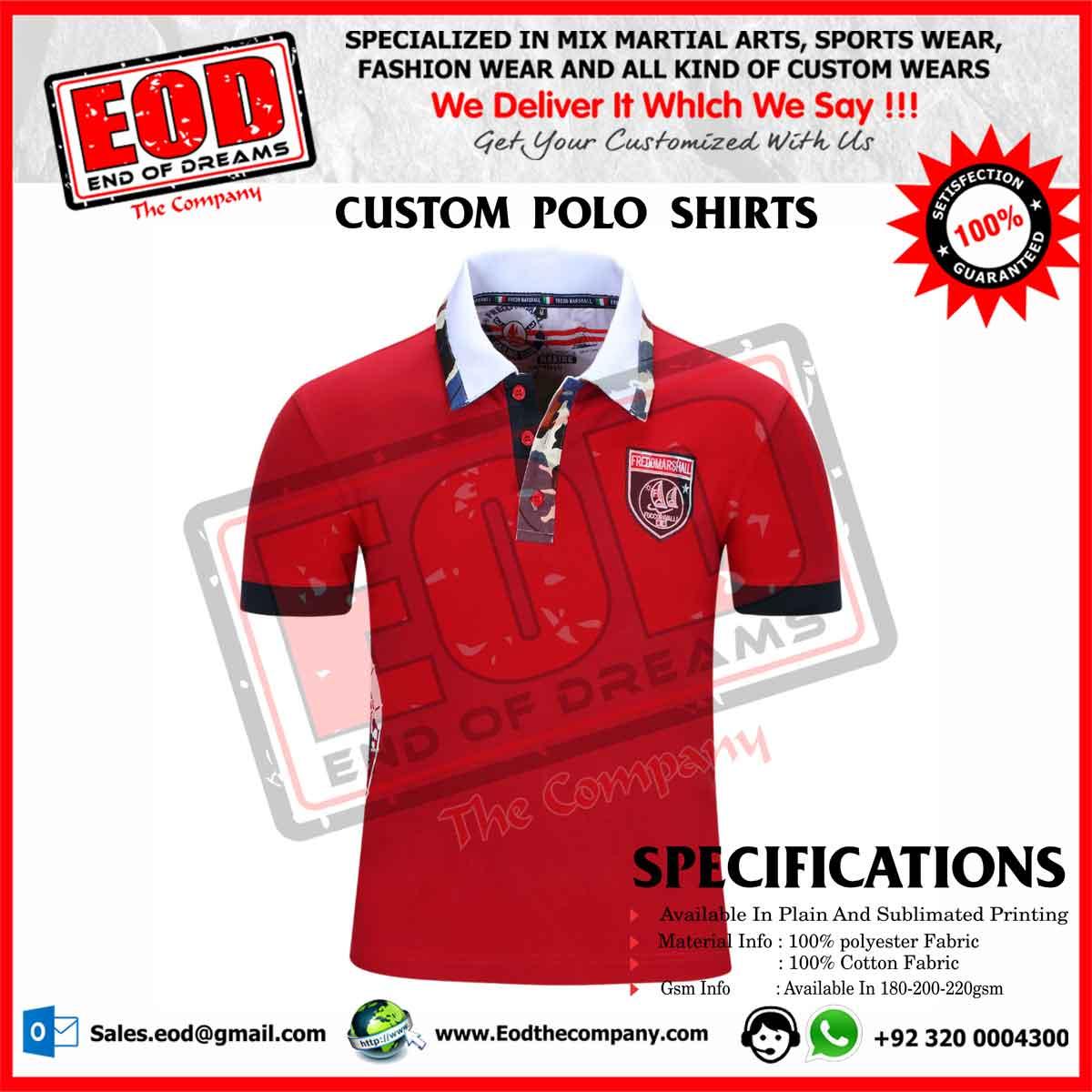 a5b5df841 Polo Shirts Custom Design - DREAMWORKS