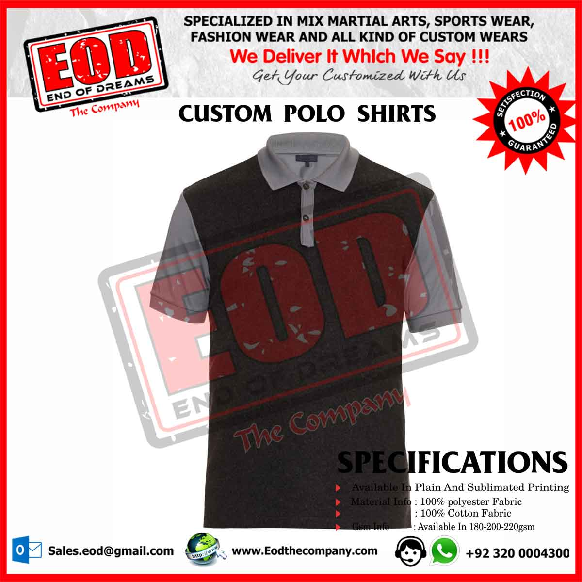 Custom Polo Shirts Near Me – EDGE Engineering and Consulting Limited